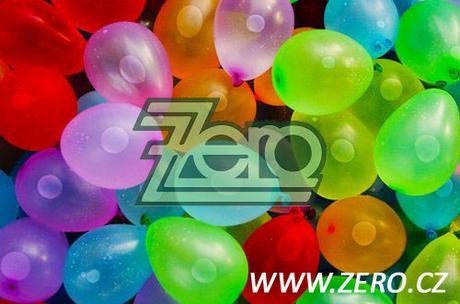 """Balónky nafukovací """"vodní bomby"""" 100 ks - mix - Obrázek č. 1"""