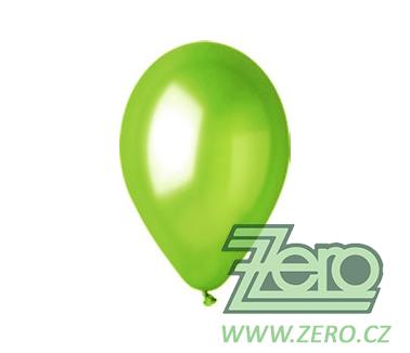 Balónky nafukovací Ø 26 metalové 20 ks - pistácie - Obrázek č. 1