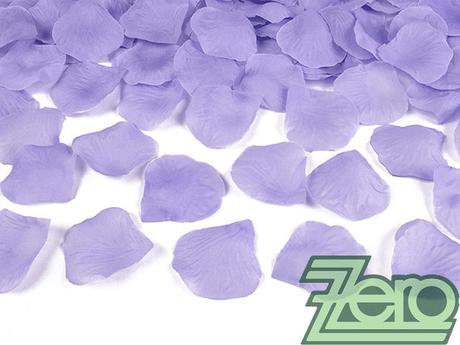 Plátky růží 100 ks - fialové - Obrázek č. 1