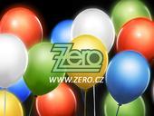 Balónky nafukovací LED (svítící) Ø 30cm (5ks)-mix,