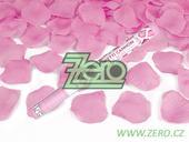 Konfety vystřelovací 60 cm - plátky růží růžové,