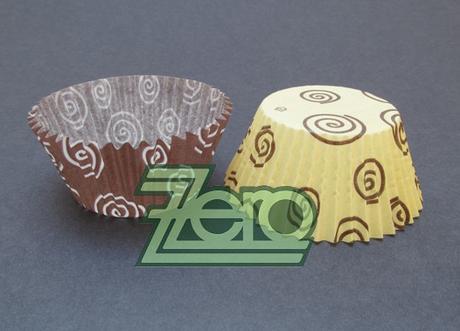 Košíčky cukrářské 60x25 mm (50 ks) - spirály  - Obrázek č. 1