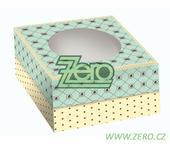 Krabička papírová dortová 21x21 cm s tiskem 2dílná,