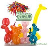 """Balónky nafukovací """"modelovací"""" 130cm (100 ks)-mix,"""