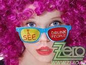 "Brýle párty ""I see drunk people"","