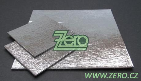 Podložka ozdobná lepenková 30x30 cm - stříbrná - Obrázek č. 1