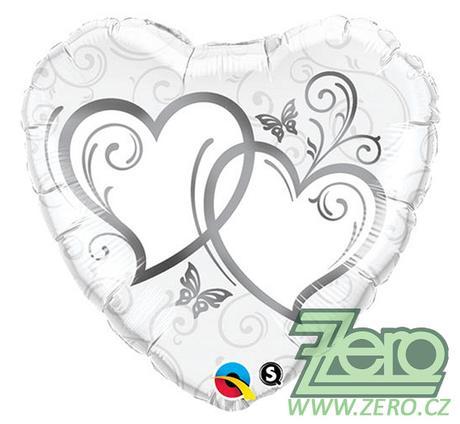 """Balónky nafukovací """"srdce"""" pr. 46 cm  - Obrázek č. 1"""