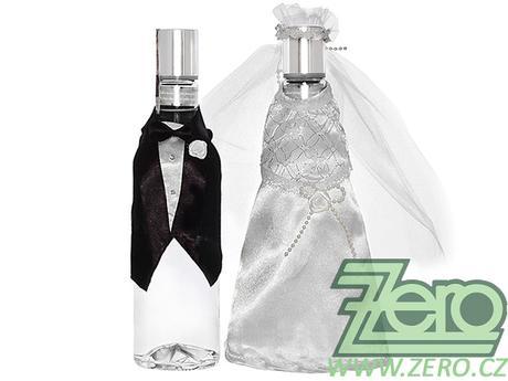 """Oblek svatební na alkohol """"novomanželé"""" - Obrázek č. 1"""