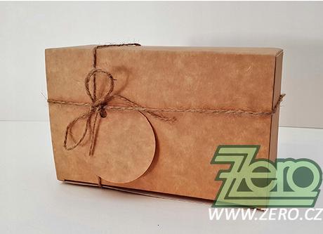 Krabička papírová 11x16x6 cm - přírodní - Obrázek č. 1