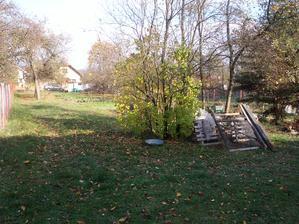 záhrada - sad, pôvodný stav
