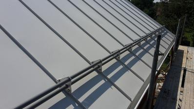 biela strecha, hliník od kjg