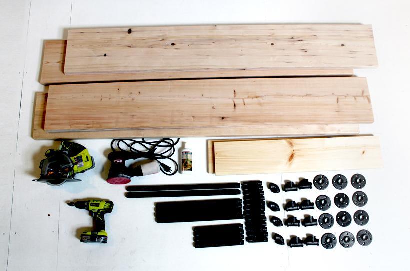 Stôl z oceľových trubiek - Obrázok č. 1