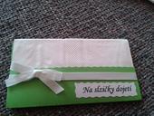 Svatební kapesníčky na slzy dojetí,