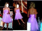 šaty spoločenské, na svadbu či stužkovú, 38