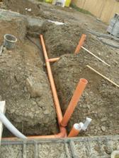 kanalizácia, voda garaž
