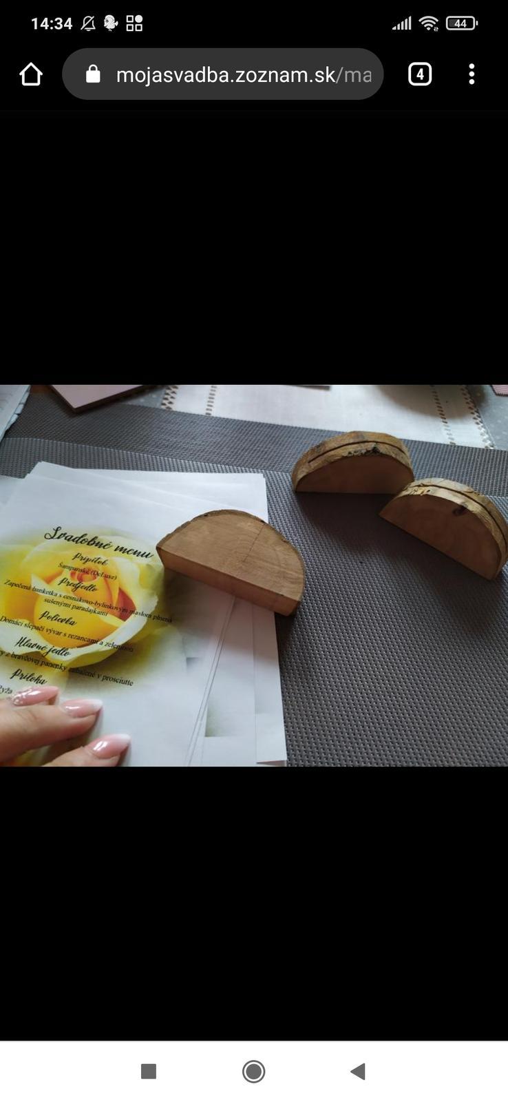 drevené podstavce - Obrázok č. 1
