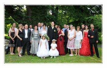 náš svatební tým