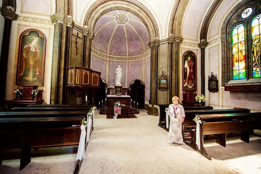Zámek Niměřice - Kaple Korunování Panny Marie