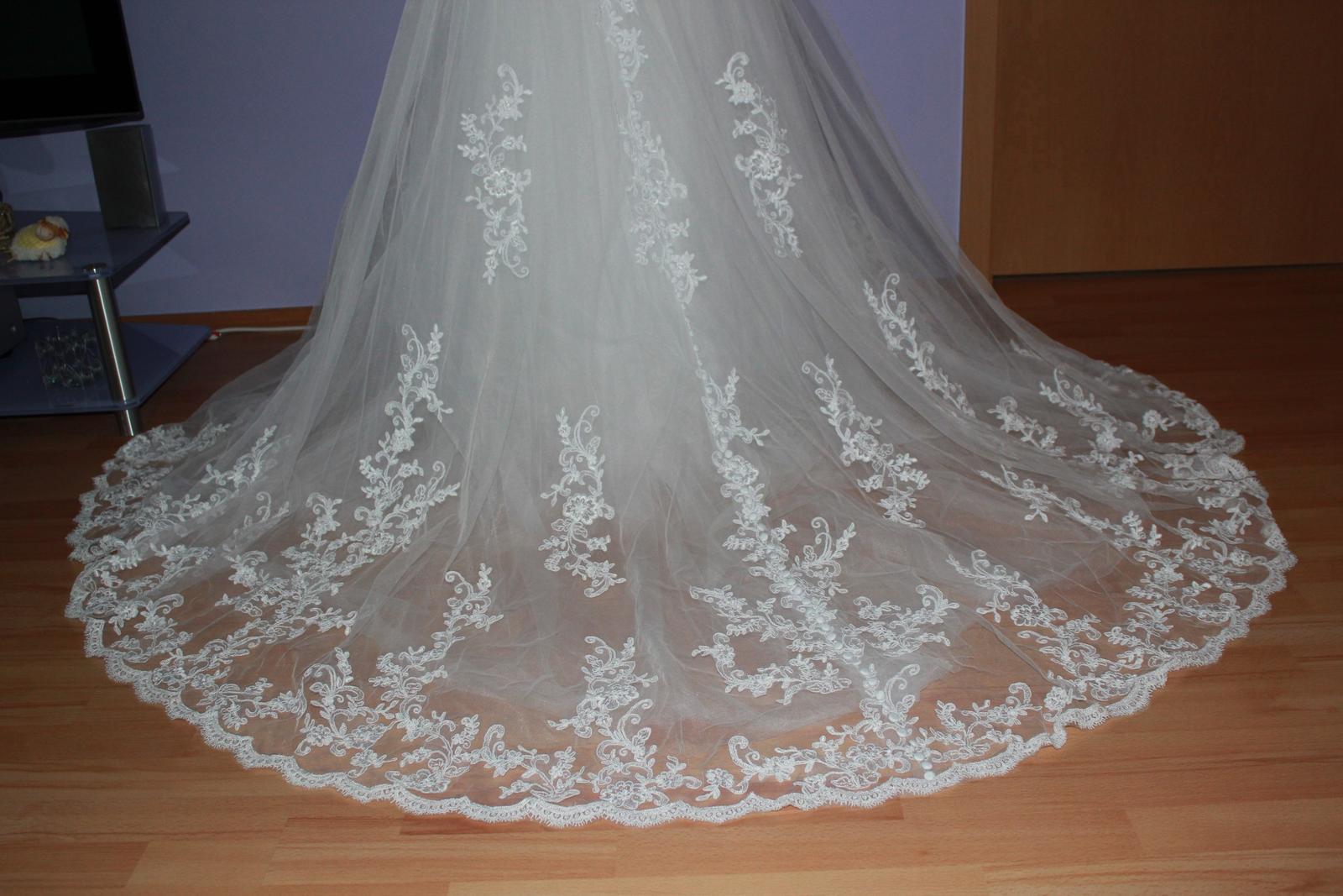 Svadobné šaty značky Jasmine Bridal - Obrázok č. 2