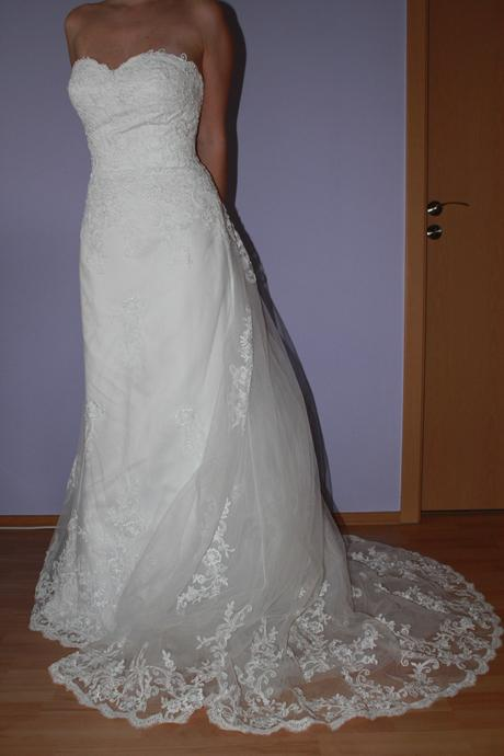 Svadobné šaty značky Jasmine Bridal - Obrázok č. 1