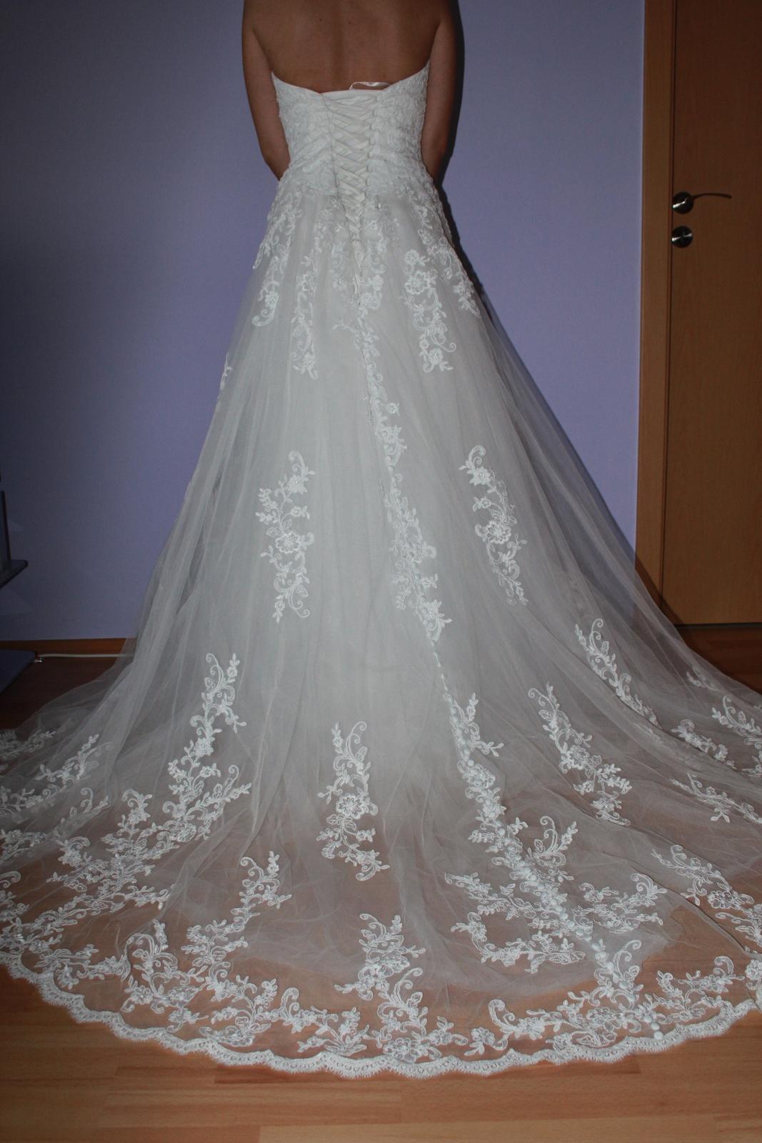 Svadobné šaty značky Jasmine Bridal - Obrázok č. 3