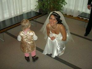 nejmladsi clen svatby kamaradcina Annicka