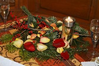 dekorace stolu