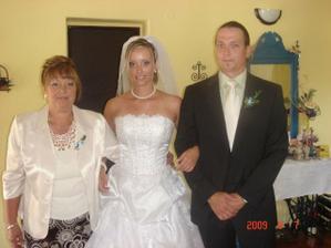 s maminkou a bratrem