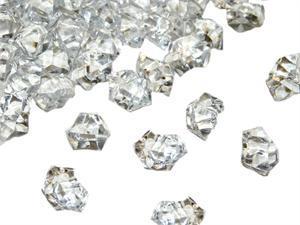 Krystalky,které budou zdobit svatební tabuli