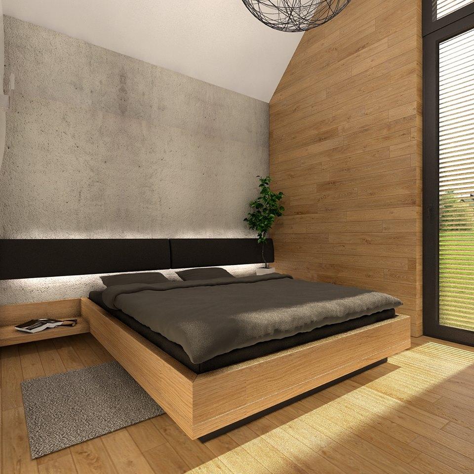 Mobilné domy - spálňa 1