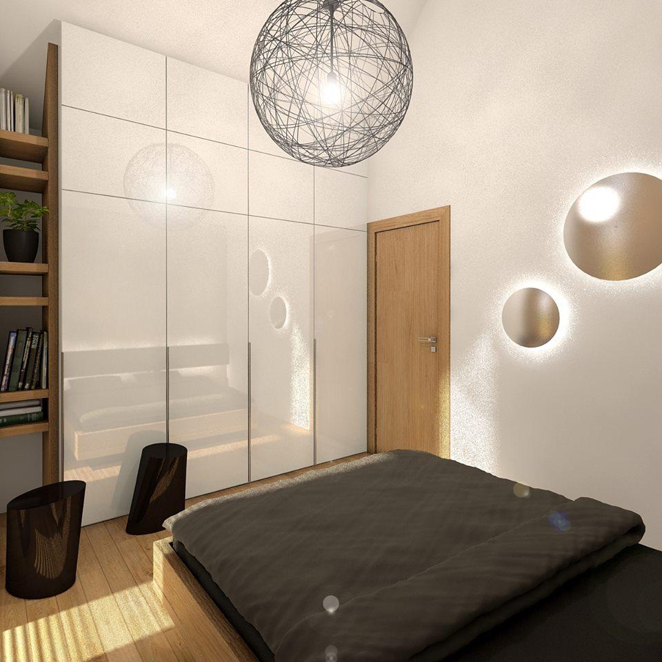 Mobilné domy - spálňa 2