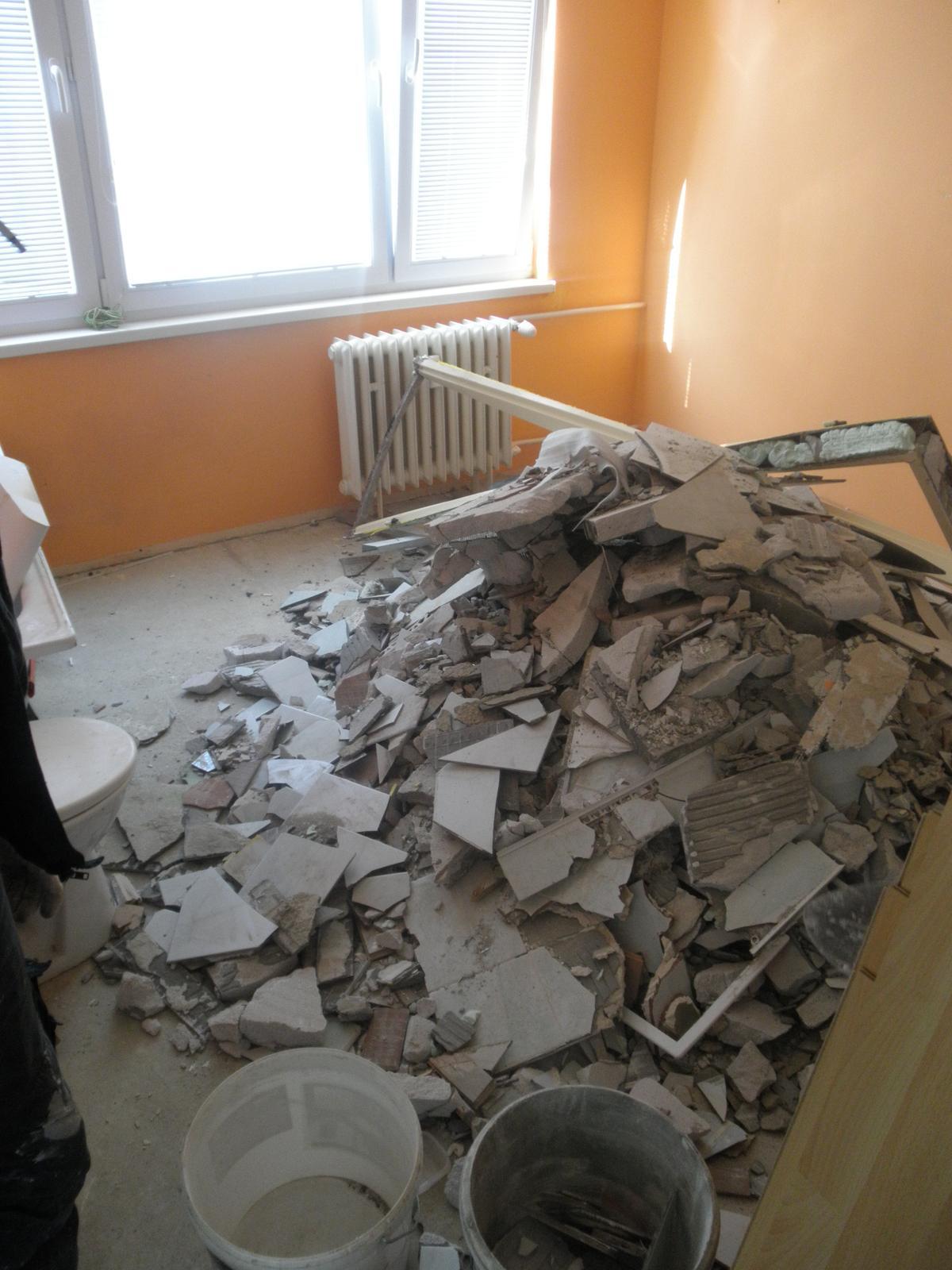 Rekonštrukcia 1 izbového bytu Zvolen - Obrázok č. 3