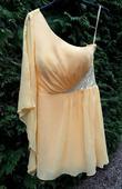 Žlté spoločenské šaty, 36