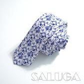 Pánska slim kravata - folk - tanečníci,