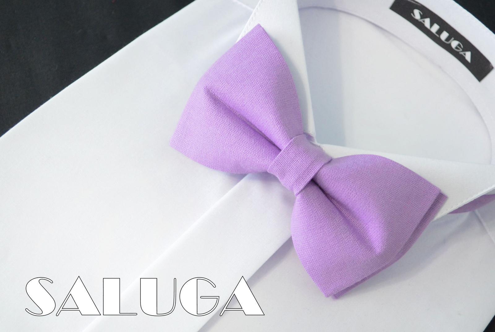 Pánsky fialový motýlik - Obrázok č. 1