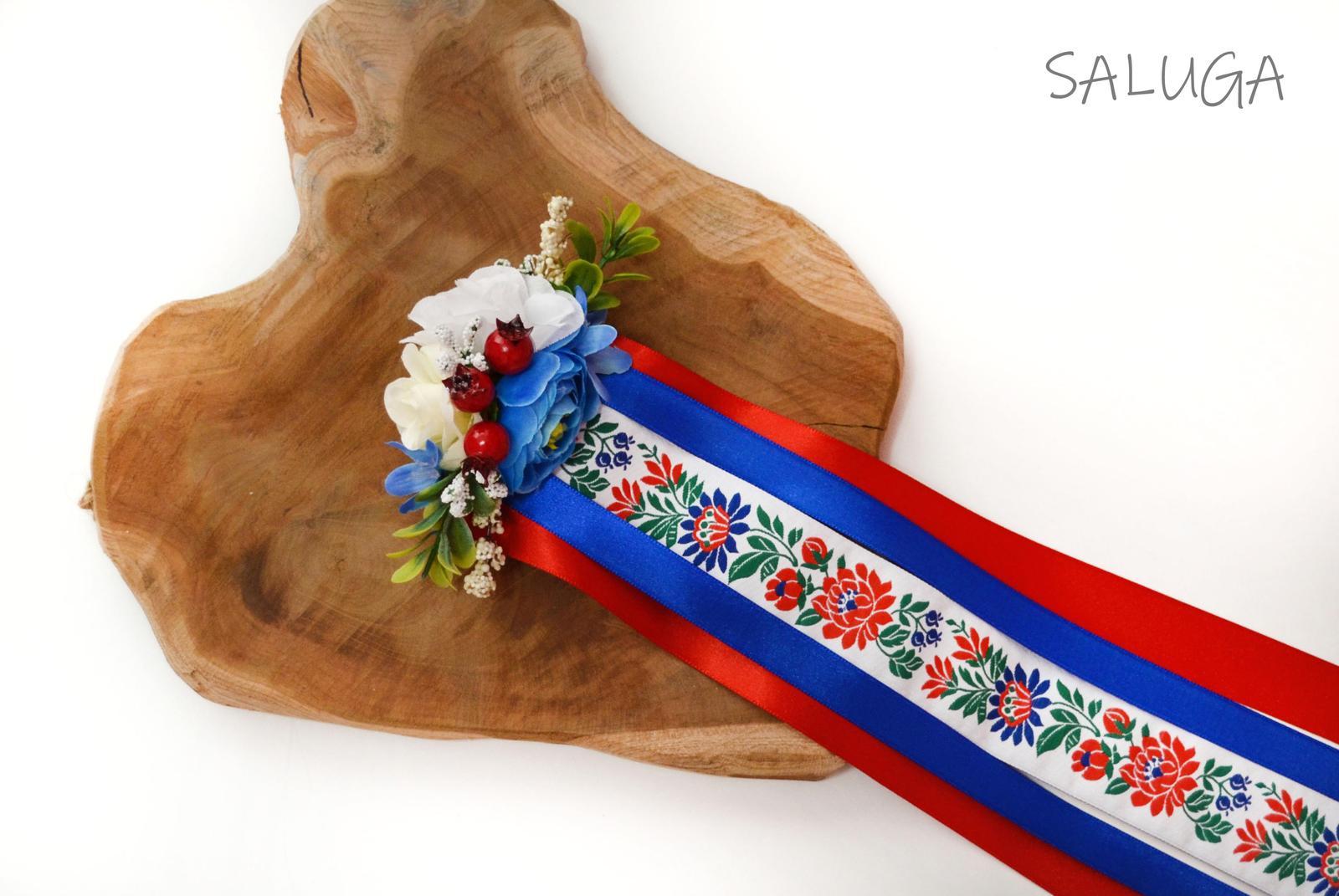Folklórny hrebienok do vlasov - slovenský - folk - Obrázok č. 1