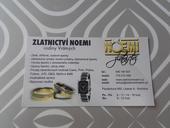 poukázka do zlatnictví Noemi - Liberec,