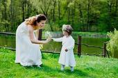 Jemné svadobné šaty , 42