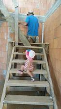 kontrola pri vykreslovani schodiska