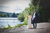 Kojící krajkové svatební šaty, 36