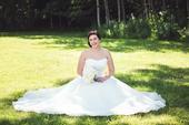 Svatební šaty značky Mori Lee velikost 38-40, 38