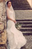 Svadobné šaty Pronovias Preston a závoj, 36