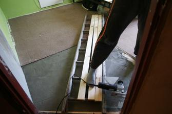 zabetonovaná podlaha teď jen nešlápnout :-)