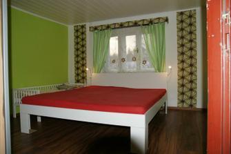 naše nová, skoro hotová ložnice