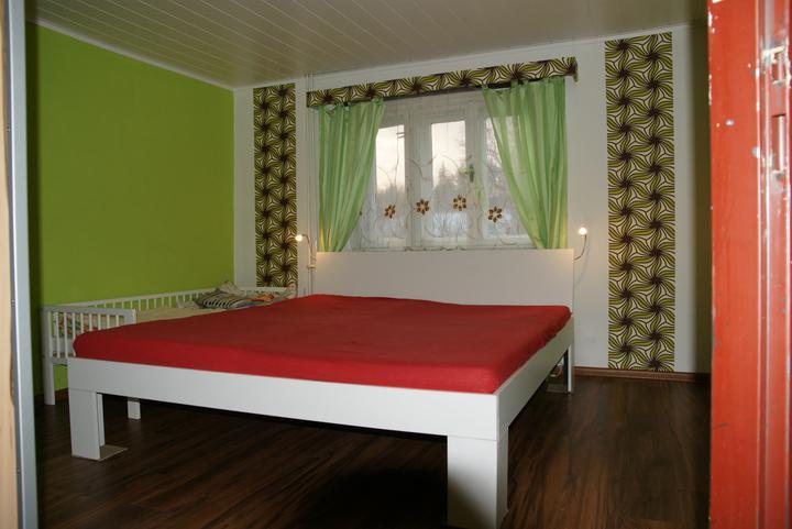 Náš  byteček - naše nová, skoro hotová ložnice