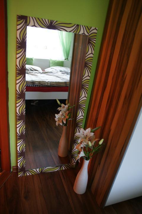 Náš  byteček - vylepšili jsme si zrcadlo