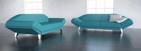 Náš  byteček - Nevím proč ale tahle sedačka mě neskutečně zaujala sice ne v téhle barvě ale ten zvláštní tvar prostě je něčím zajímavá a moc se mi líbí