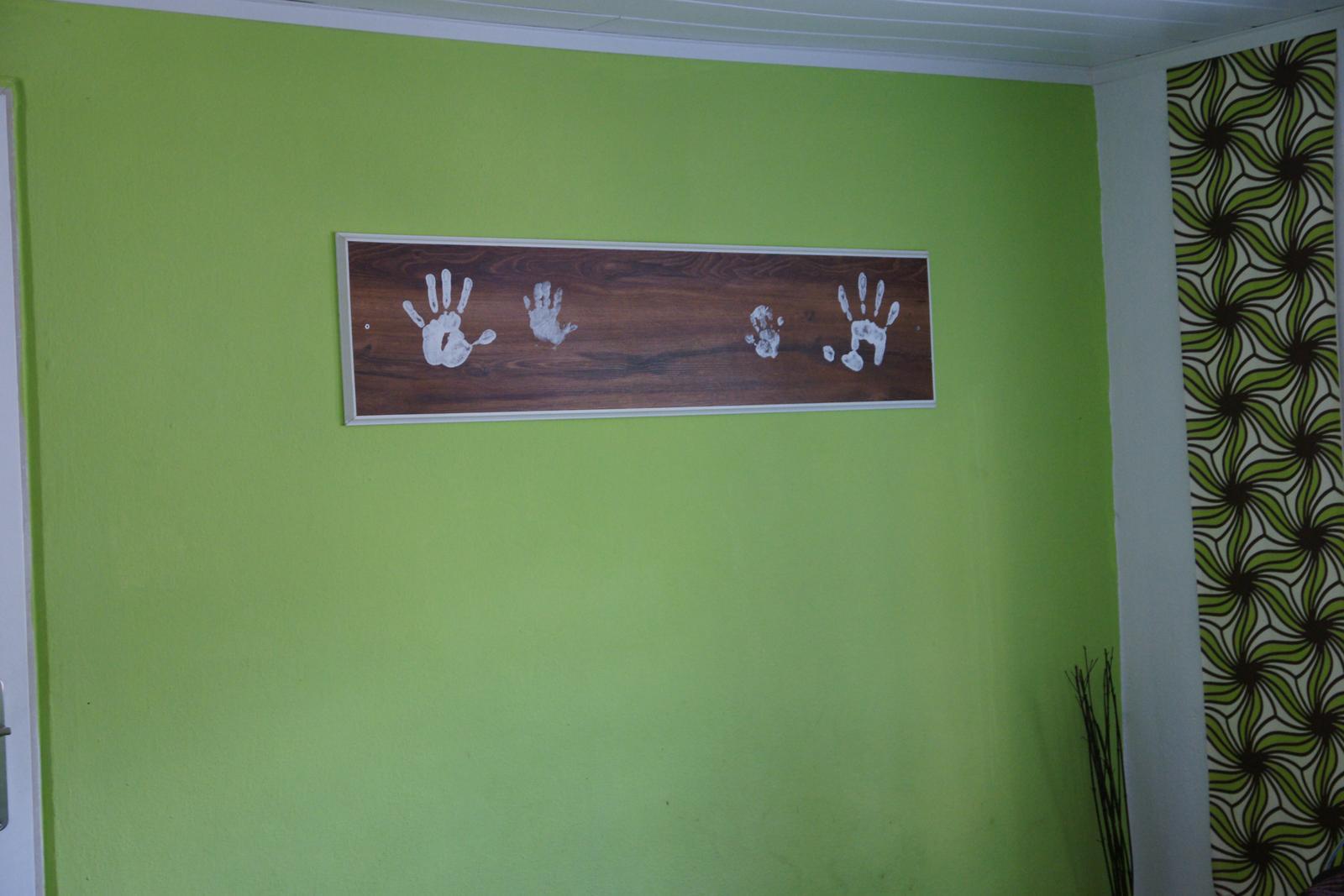 Předěláváme ložnici - konečně přibyla i Adámkova ručička