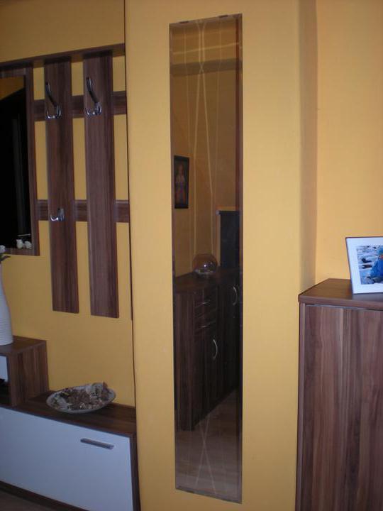 Náš  byteček - zrcadlo nesmí chybět :-)