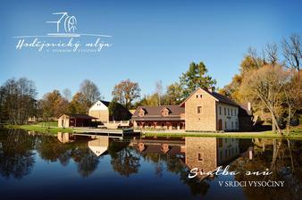 Krásné místo na Svatbu-vždycky jsem se chtěla vdávat v Hodejovickem mlýně a nakonec mi to vyšlo... Jsem šťastná